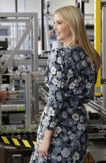 IVANKA TRUMP at Siemens Mechantronic Factory in Berlin 04/25/2017