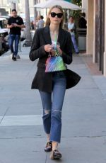 JAIME KING Out and About in Beverly Hills 04/10/2017