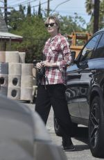 JANE LYNCH Out and About in Los Angeles 04/26/2017