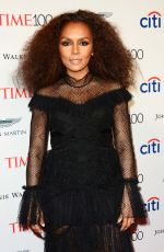 JANET MOCK at 2017 Time 100 Gala in New York 04/25/2017