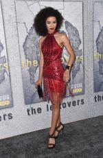 JASMIN SAVOY at The Leftovers, Season 3 Premiere in Los Angeles 04/04/2017