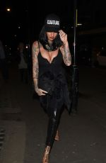 JEMMA LUCY Arrives at San Carlo Restaurant in Manchester 04/21/2017