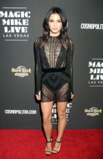 JENNA DEWAN at Magic Mike Live Las Vegas Opening Night 04/21/2017