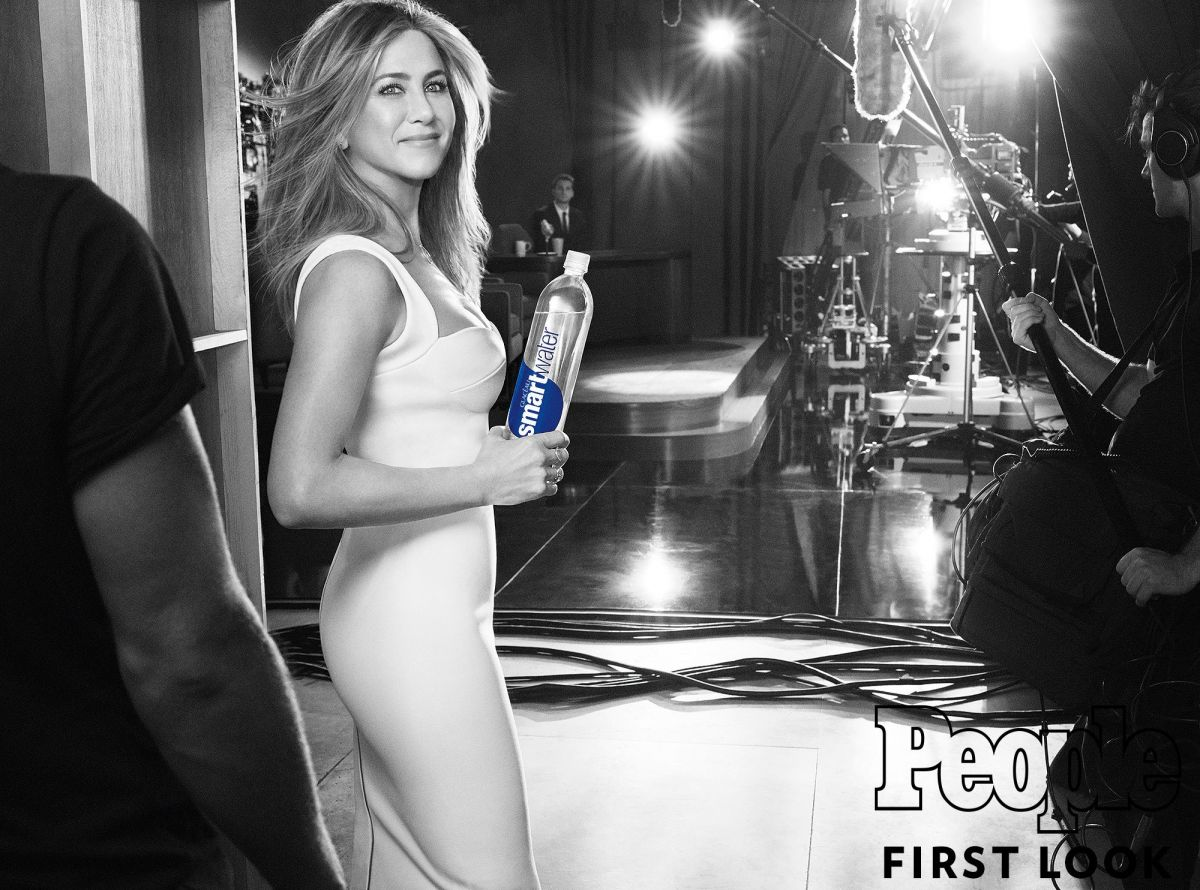 JENNIFER ANISTON for Smartwater, Spring 2017 Campaign