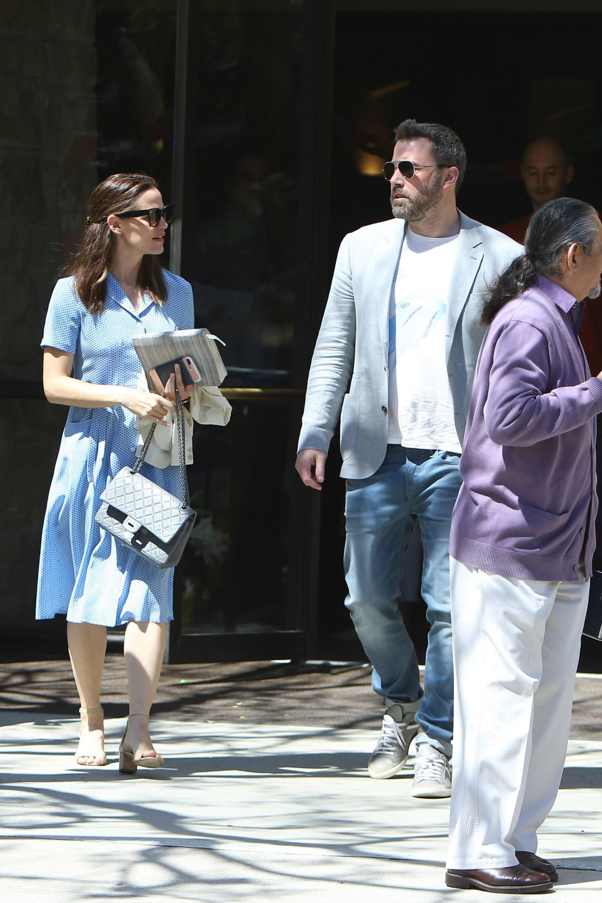 JENNIFER GARNER and Ben Affleck Leaves Church in Pacific ...