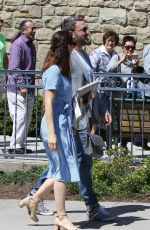 JENNIFER GARNER and Ben Affleck Leaves Church in Pacific Palisades 04/16/2017