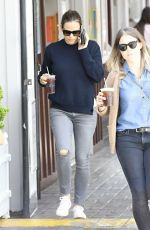 JENNIFER GARNER Out and About in Brentwood 04/18/2017