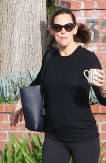 JENNIFER GARNER Out for Coffee in Brentwood 04/24/2017