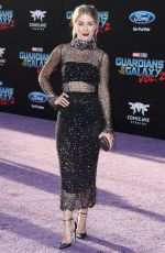 JENNIFER HOLLAND at Guardians of the Galaxy Vol. 2 Premiere in Hollywood 04/19/2017