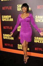 JENNIFER HUDSON at Sandy Wexler Premiere in Hollywood 04/06/2017