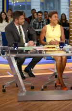 JENNIFER HUDSON on the Set of Good Morning America 04/17/2017