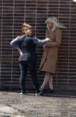 JENNIFER LAWRENCE on the Set of Red Sparrow 04/25/2017