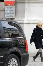 JENNIFER LAWRENCE on the Set of Red Sparrow in Vienna 04/29/2017
