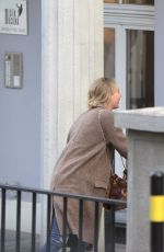 JENNIFER LAWRENCE Out for Lunch in Bratislava 04/26/2016