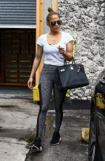 JENNIFER LOPEZ and Alex Rodriguez Leaves a Gym in Miami 04/20/2017