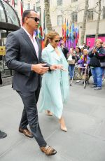 JENNIFER LOPEZ and Alex Rodriguez Out in New York 04/24/2017
