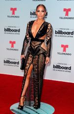JENNIFER LOPEZ at 2017 Billboard Latin Music Awards in Miami 04/27/2017