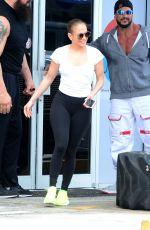 JENNIFER LOPEZ Leaves a Gym in Miami 04/22/2017