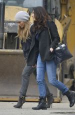 JENNIFER LOPEZ with Her Sister LYNDA Out in New York 04/23/2017