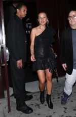 JENNIFER MEYER Leaves Peppermint Club in West Hollywood 04/23/2017