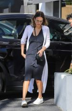 JESSICA ALBA Arrives at a Dentist in Sherman Oaks 04/28/2017