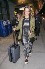 JESSICA ALBA at JFK Airport in New York 04/04/2017