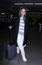 JESSICA ALBA at Los Angeles Interrnational Airport 04/11/2017