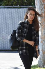 JESSICA ALBA Leaves an Office in Los Angeles 04/20/2017