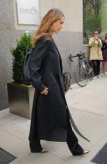 JESSICA ALBA Leaves Her Hotel in New York 04/17/2017