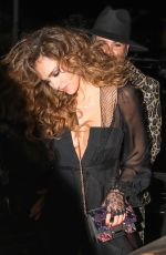 JESSICA ALBA Leaves Peppermint Club in West Hollywood 04/28/2017