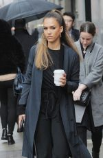 JESSICA ALBA Out and About in New York 04/04/2017