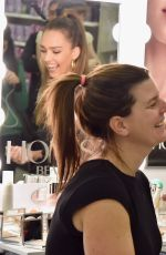 JESSICA ALBA Surprises Target Guests with Honest Beauty Makeovers in New Jersey 04/04/2017