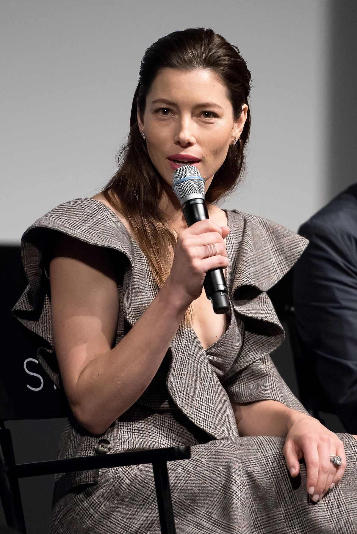 JESSICA BIEL at The Sinner Panel at Tribeca Film Festival ... Jessica Biel The Sinner