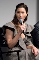 JESSICA BIEL at The Sinner Panel at Tribeca Film Festival 04/25/2017
