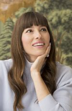 JESSICA BIEL at The Sinner Press Conference in New York 04/18/2017