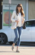 JESSICA BIEL in Tight Jeans Out in Los Angeles 04/10/2017
