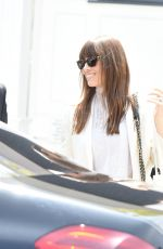 JESSICA BIEL Leaves Her Au Fudge restaurant in Los Angeles 04/07/2017