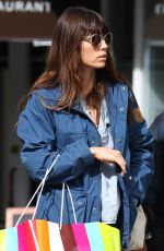 JESSICA BIEL Out Shopping in New York 04/17/2017