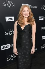 JESSICA CHASTAIN at The Son Premiere in Hollywood 04/03/2017