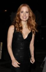 JESSICA CHASTAIN Leaves The Son Premiere Party in Hollywood 04/03/2017
