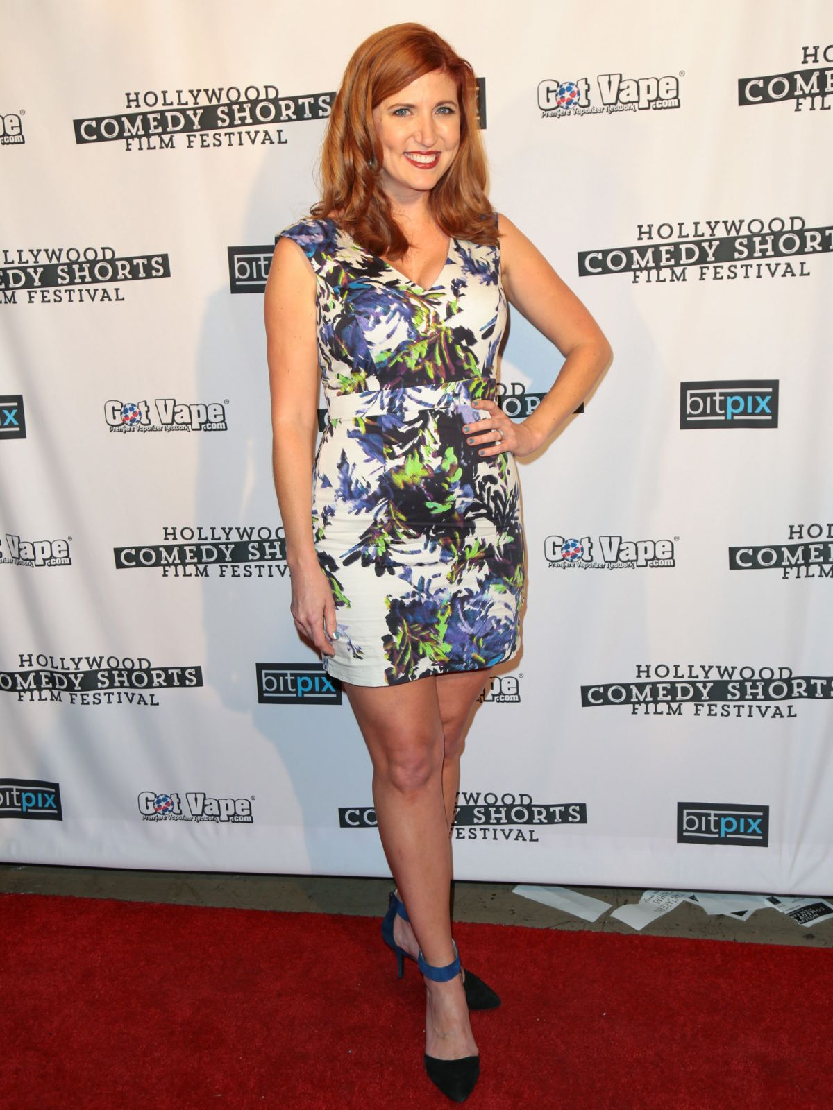 JESSICA GARDNER at Hollywood Comedy Shorts Film Festival 04/15/2017