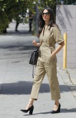 JESSICA GOMES Out Shopping in Beverly Hills 04/18/2017