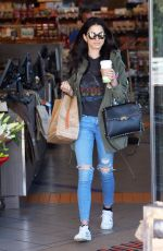 JESSICA GOMES Out Shopping in Los Angeles 04/14/2017