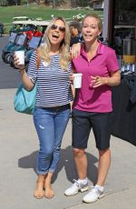 JESSICA HALL and KENDRA WILKINSON at Hank Baskett Classic Golf Tournament in Calabasas 04/24/2017