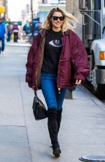 JESSICA HART at Sant Ambroeus Restaurant in New York 04/10/2017