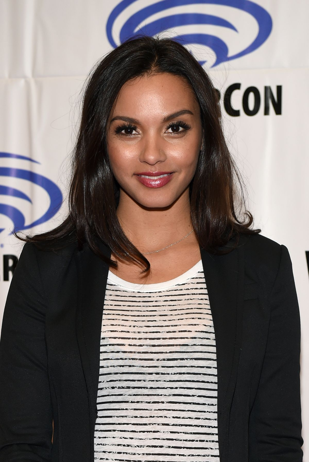 JESSICA LUCAS at Gotham Panel at WonderCon in Anaheim 04/02/2017