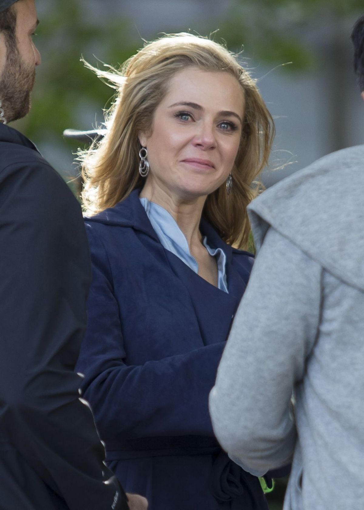 Jessica Marais On The Set Of Love Child In Sydney 03 31 2017