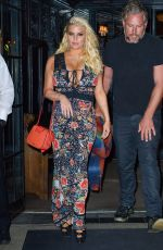 JESSICA SIMPSON Out and About in New York 04/19/2017