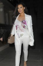 JESSICA WRIGHT Leaves New Look Pool Party Launch in London 04/06/2017