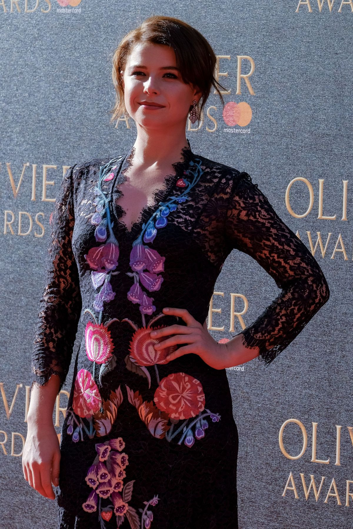 JESSIE BUCKLEY at Olivier Awards in London 04/09/2017